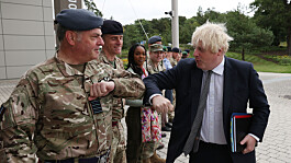Afghanistan latest: Boris Johnson 'lost in admiration' for returning troops