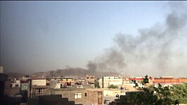 Afghanistan Latest: US air strike targets suspected suicide bombers near Kabul airport