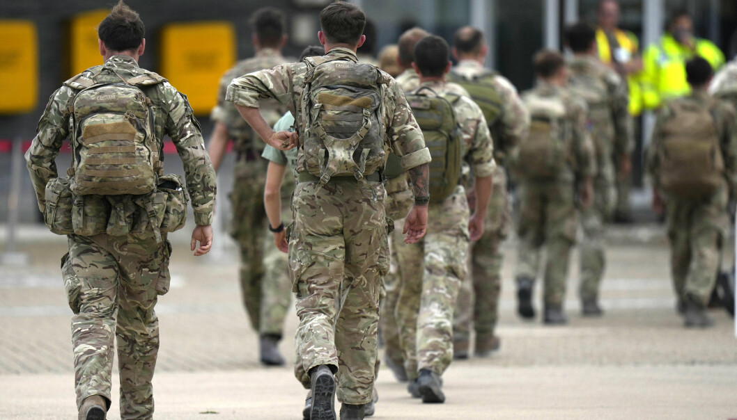 Afghan forces could form new regiment in the British army.