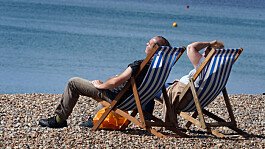 UK weather: Dry for many with warm sunny spells in south and west England