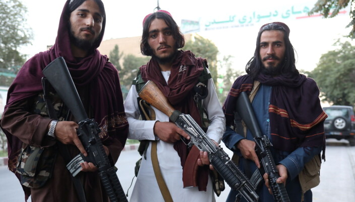 Taliban soldiers pose for a photo in Kabul, Afghanistan September 1, 2021.