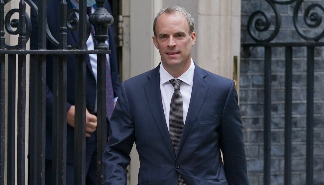 Foreign Secretary Dominic Raab has headed to Pakistan to meet his opposite number, Foreign minister Makhdoom Shah Mahmood Qureshi.