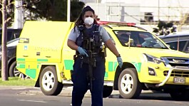 Violent extremist shot dead by police in Auckland, New Zealand, after supermarket attack