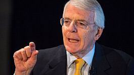 Sir John Major: Withdrawing from Afghanistan was 'strategically very stupid'