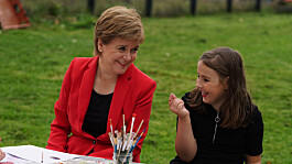 Sturgeon told by schoolgirl 'I hope you don't put us back into lockdown'