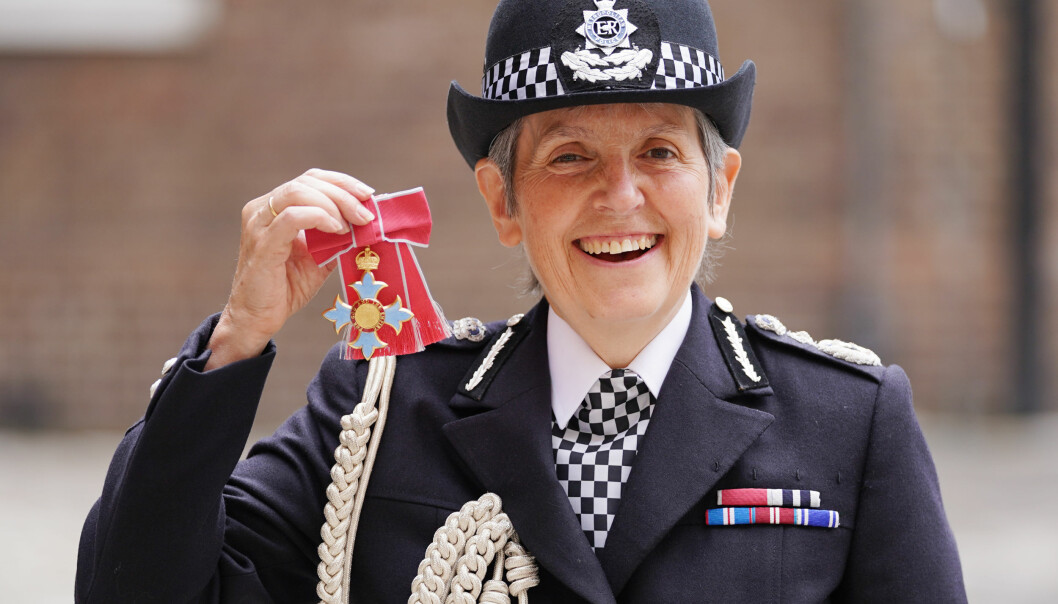 Metropolitan Police Commissioner Cressida Dick following an investiture ceremony at St James's Palace in central London, where she was made a Dame Commander of the Order of the British Empire by the Prince of Wales. Picture date: Wednesday July 14, 2021.