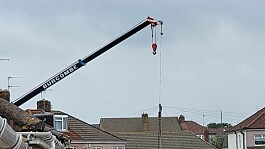 Man killed by load falling from crane