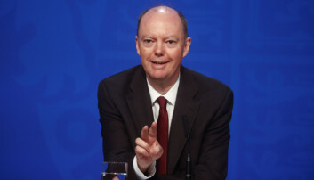 Chief Medical Officer for England Chris Whitty, during a Downing Street briefing