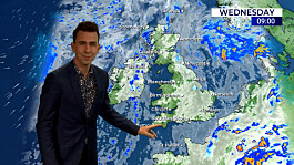 Weather: Fine and dry for most