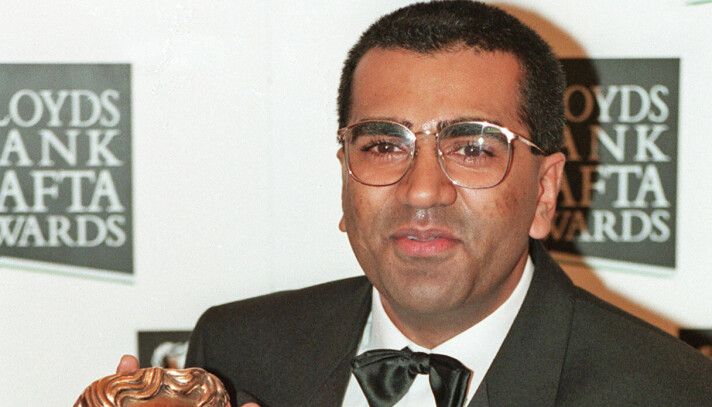 Martin Bashir with the BAFTA award he won for his interview with the Princess of Wales.