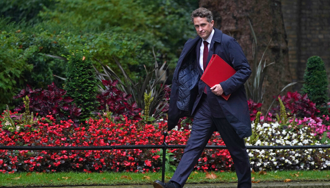Education Secretary Gavin Williamson arrives in Downing Street, London, ahead of the government's weekly Cabinet meeting. Picture date: Tuesday September 14, 2021.