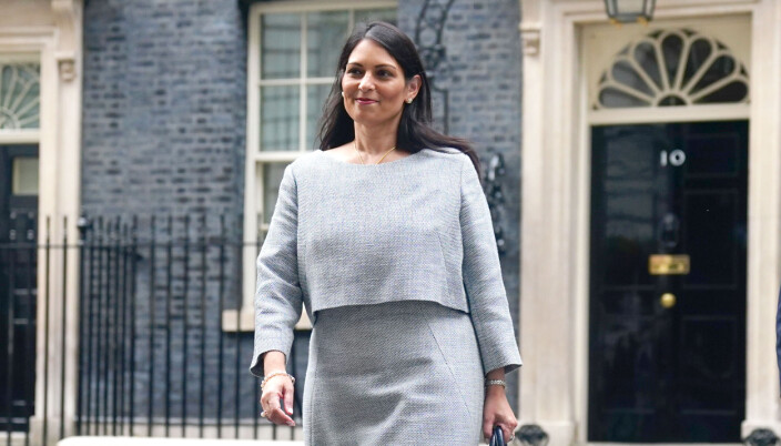 Home Secretary Priti Patel leaves Number 10 Downing Street, London, amid a cabinet reshuffle which has so far seen three ministers retire to the back benches.