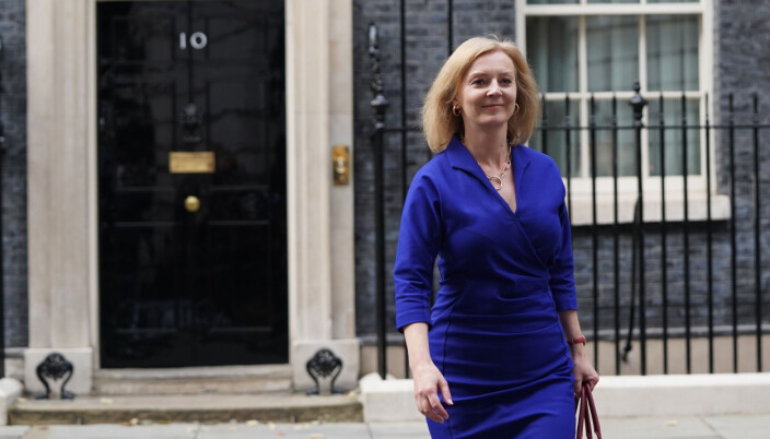 Newly-appointed Foreign Secretary Liz Truss leaves Number 10 Downing Street, as Prime Minister Boris Johnson reshuffles his Cabinet.