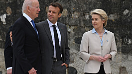 France recalls ambassadors to US and Aus in response to AUSUK security deal