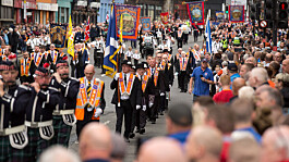 Thousands line Glasgow streets for Orange Order processions