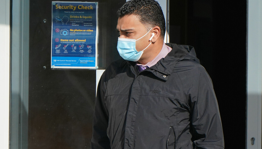 GP Rumi Chhapia leaves Portsmouth Magistrates' Court