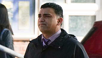 GP Rumi Chhapia arrives at Portsmouth Magistrates' Court
