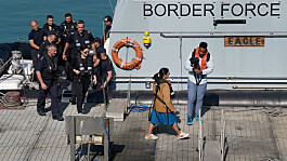 Priti Patel's boat nudge tactics legal, says Home office official