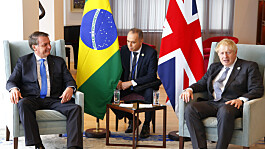 Johnson requests 'emergency' deal to import food from Brazil, says Bolsonaro