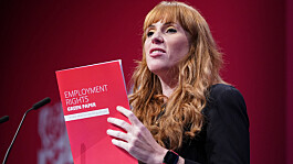 Minister calls on Rayner to apologise for calling Tories 'scum' at Labour Conference