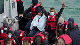 Number of migrants who crossed Channel in 2021 now double last year's total