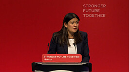 Lisa Nandy: Labour will defend national security 'by building bridges, not walls'