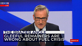 Colin Brazier: European mocking of Brits queuing for fuel is short-sighted