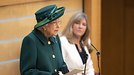 Queen tells MSPs of hopes for the future after 'adverse times' during pandemic