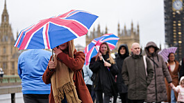 UK weather: Wet and windy across large parts of Britain