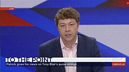 Patrick Christys: Tony Blair does not care about Britain