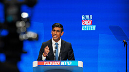 Rishi Sunak not ruling out further tax hikes in Tory conference speech