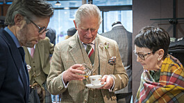 Royals: Prince Charles adds whisky to tea on a tour of businesses in Aberdeenshire