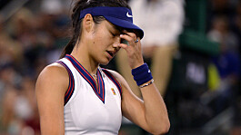Emma Raducanu loses at Indian Wells in first match since US Open win