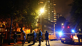 Woman and child taken to hospital after fire breaks out at London tower block