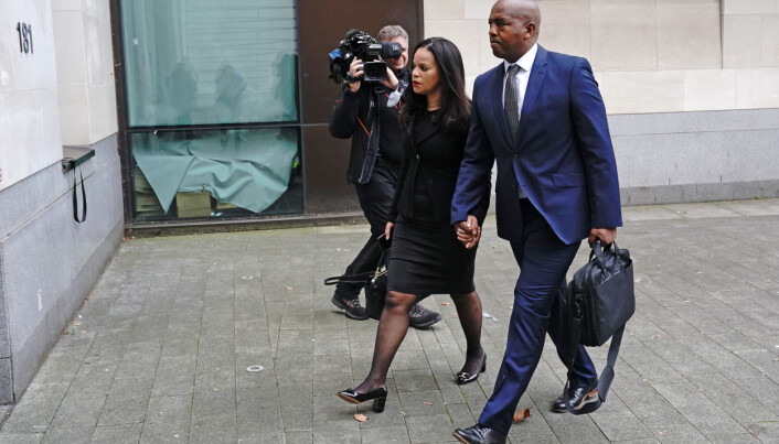 Leicester East MP Claudia Webbe arrives at Westminster Magistrates Court, London, where she is appearing charged with one count of harassment of a female between September 1, 2018 and April 26, 2020. Picture date: Wednesday October 13, 2021.