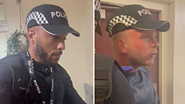 Metropolitan Police seek two men thought to have impersonated officers