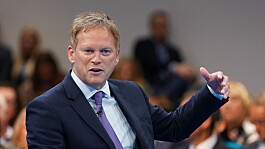 Transport Secretary Grant Shapps calls for a 'higher-skilled, better paid HGV sector'
