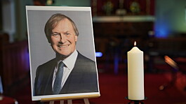 Sir David Amess: Community gathers for two-minute silence to remember MP