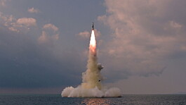 North Korea confirms submarine-launched missile test