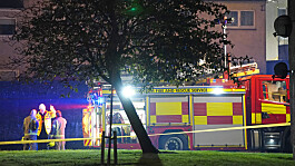 Ayr explosion: Mother and teenage son remain in critical condition