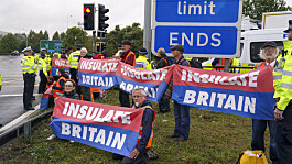 Insulate Britain: Nine activists face contempt of court hearings over M25 demos