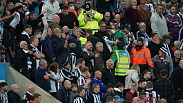 Newcastle fan who collapsed during Tottenham game released from hospital